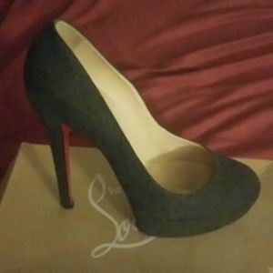 Charcoal Gray Louboutin